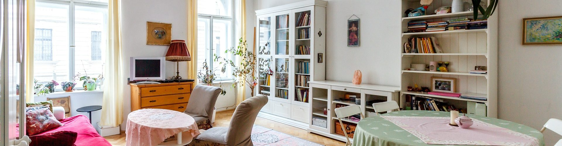 Smart tips to make the most of a small living room.