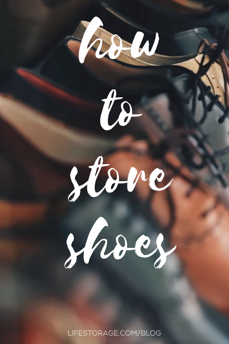 ae30ac3ab How to Store Shoes Without Destroying Them - Life Storage Blog