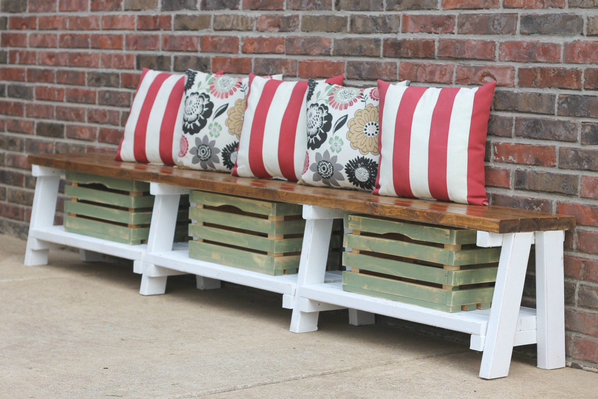 How to make a simple storage bench