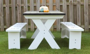 Let Me Know If You Have Any Questions I Hope Inspired To Tackle A New Project For Your Home How Build Picnic Table