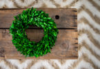 DIY Wreath Storage
