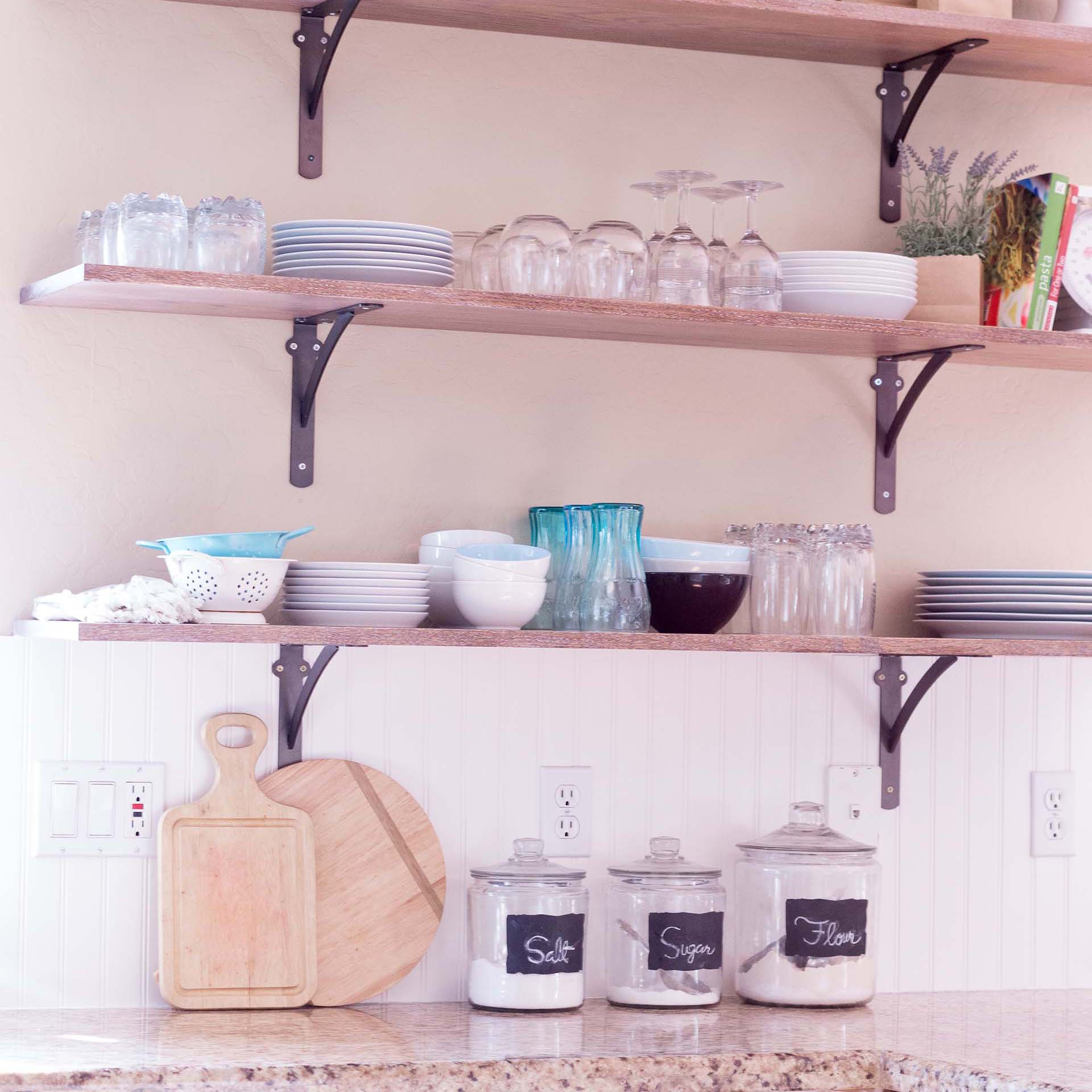 Upper Kitchen Cabinet Decorations: 6 Creative Storage Solutions For A Kitchen With No Upper