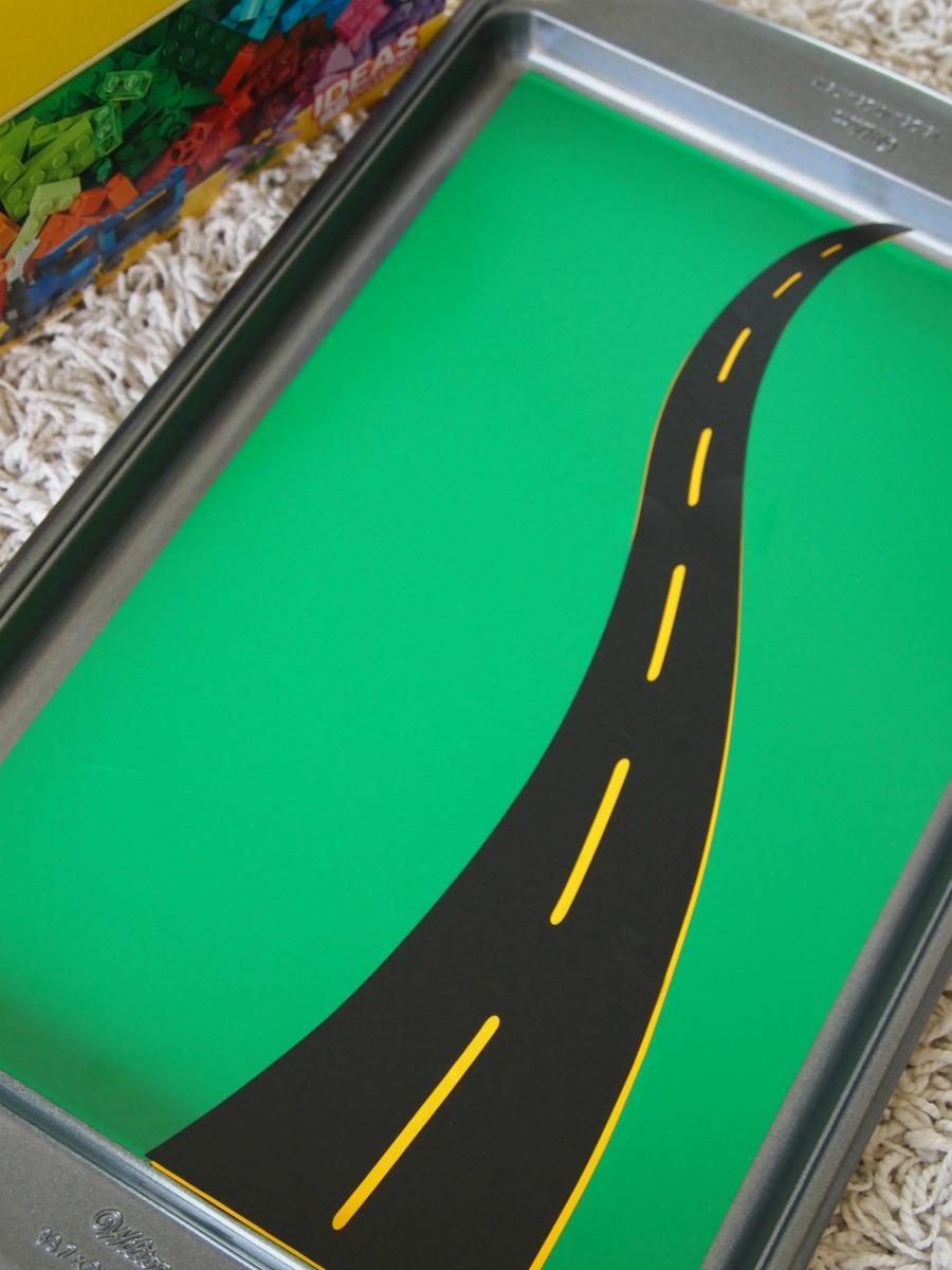 cookie sheet vinyl road sticker