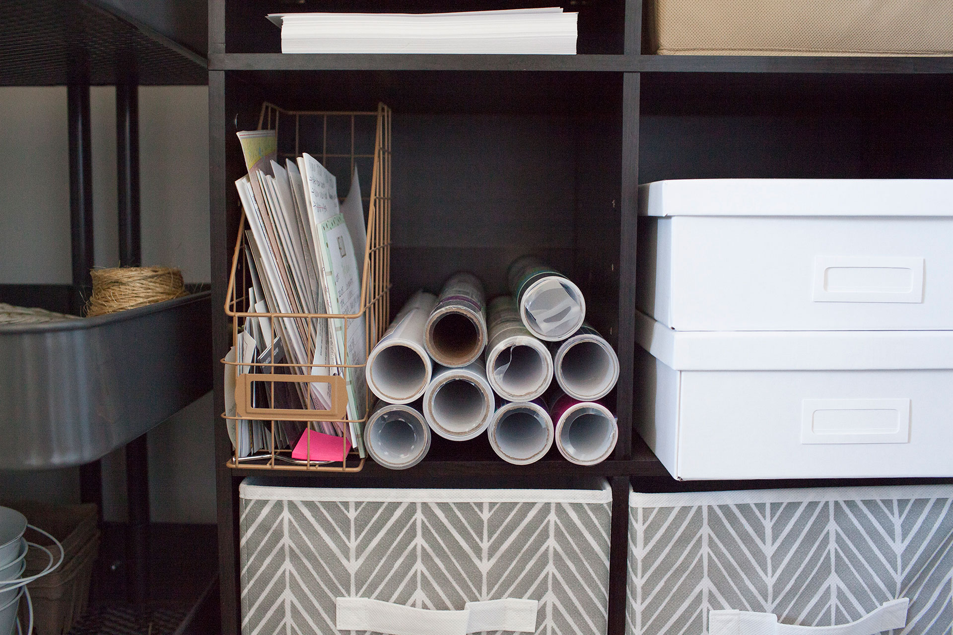 Turn Any Closet Into A Craft Closet With These Organization Ideas