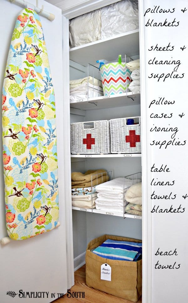 Hall Closet Organization Ideas And Storage Shelf Dividers