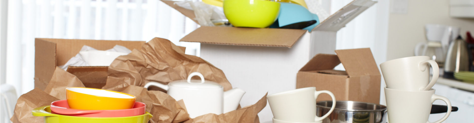 How to pack dishes - dish packs boxes