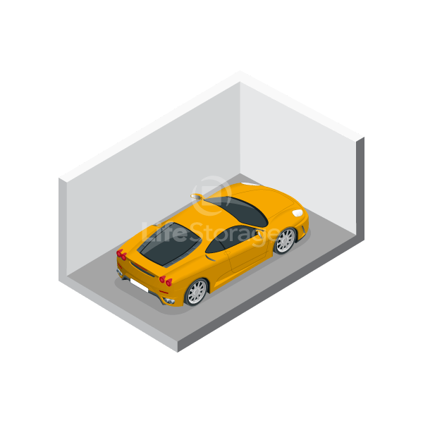 Compact Car Storage Parking Space - Indoors