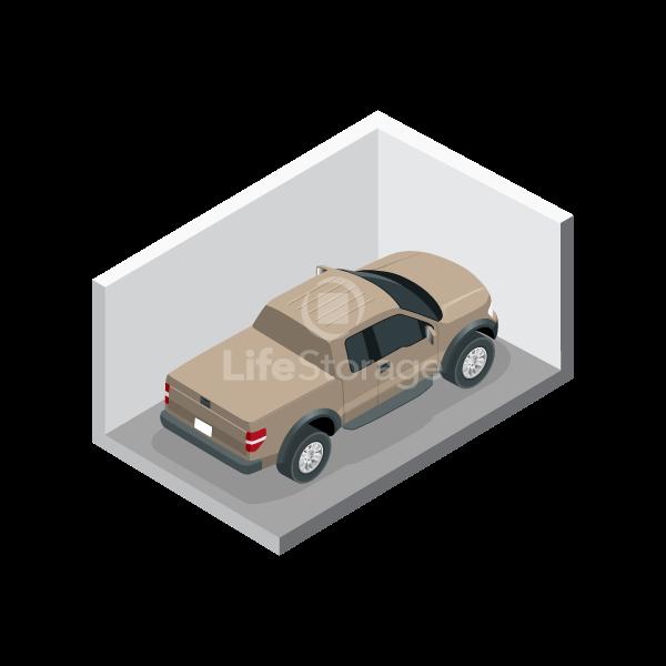 Large Car Storage Parking Space - Indoors