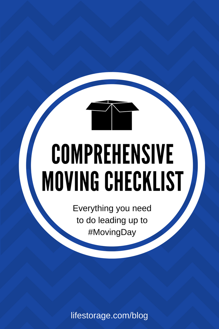 photograph about Stay Organized With a Printable Moving Checklist identified as The Final Shifting Record + Cost-free Shifting Printables Package