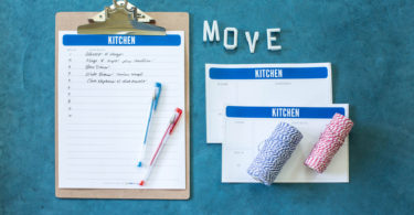 Comprehensive moving checklist