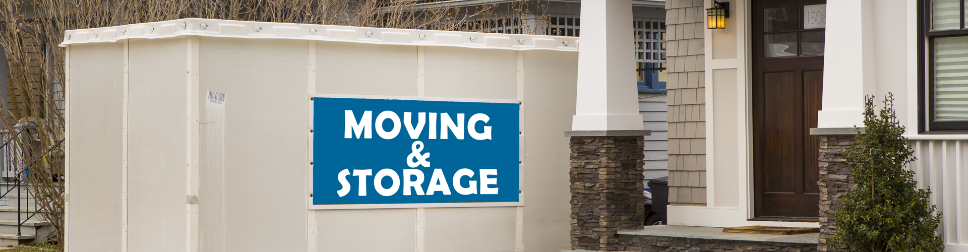 Storage for moving - storage units vs. moving containers