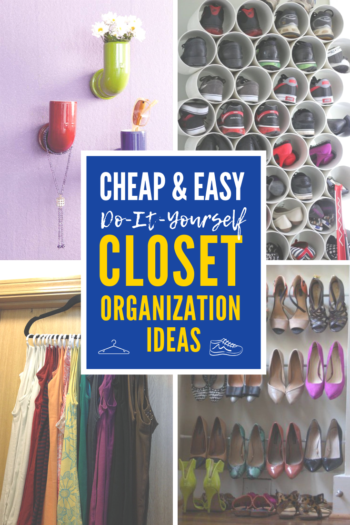 4 Cheap And Easy Diy Closet Organization Ideas You Ll Love