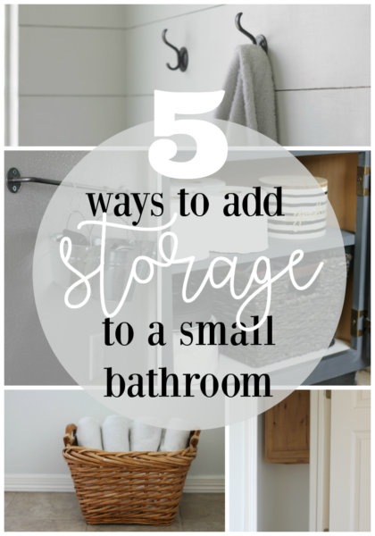 5 small bathroom storage ideas that will blow your mind - Clever storage ideas for small bathrooms ...