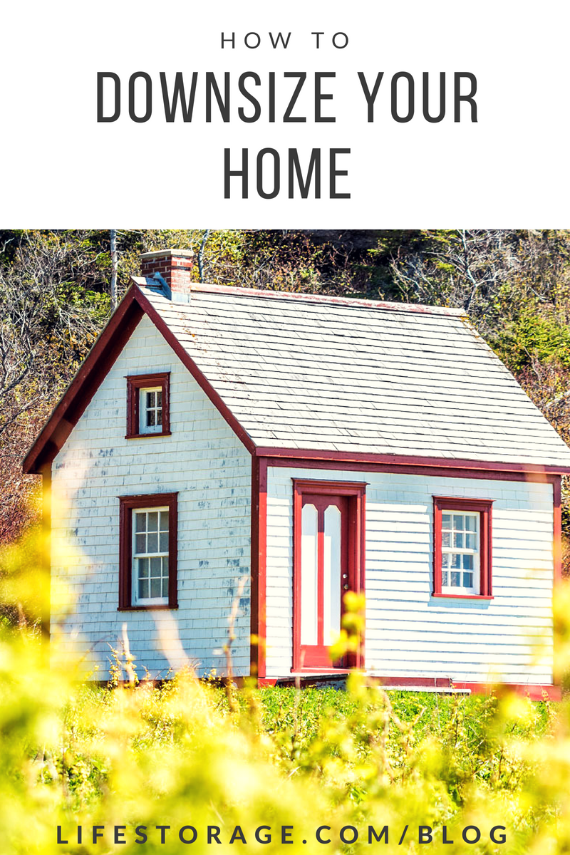 How To Downsize Your Home Free Downsizing Checklist From Life Storage