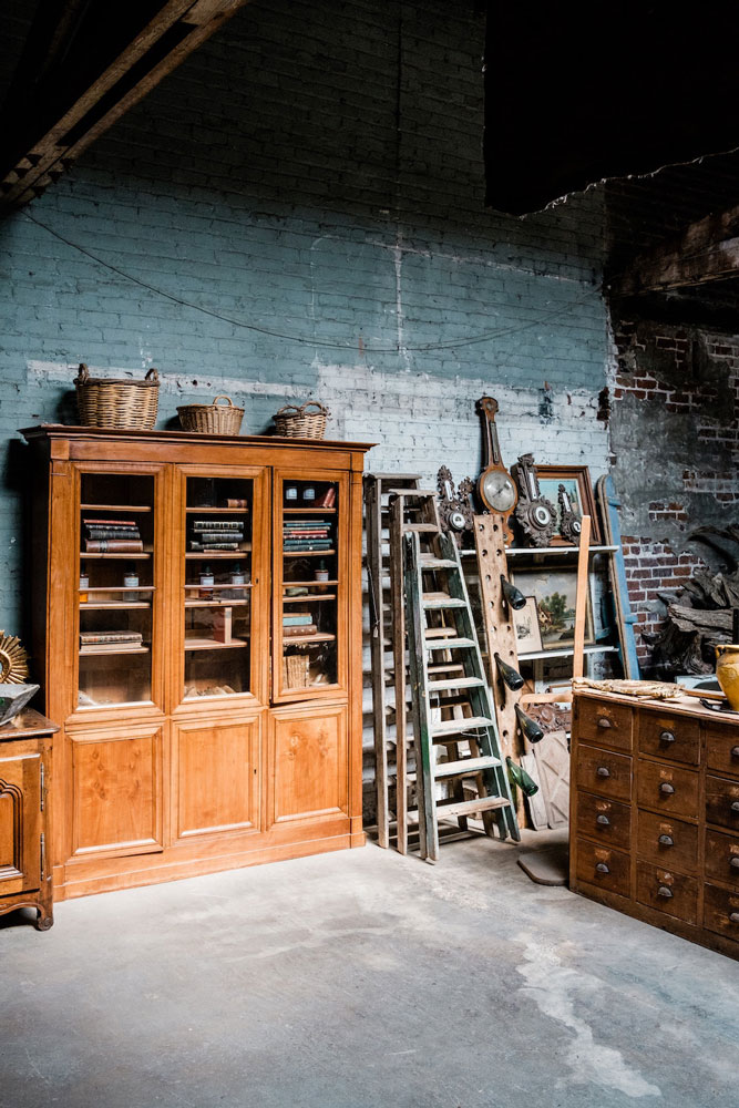 How to Downsize Your Home - Start decluttering storage spaces first.