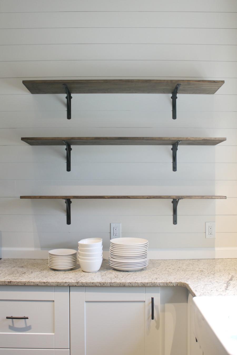 DIY Kitchen Shelves for Under $100 [How To] - Life Storage Blog