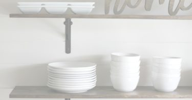 How to build DIY kitchen shelves
