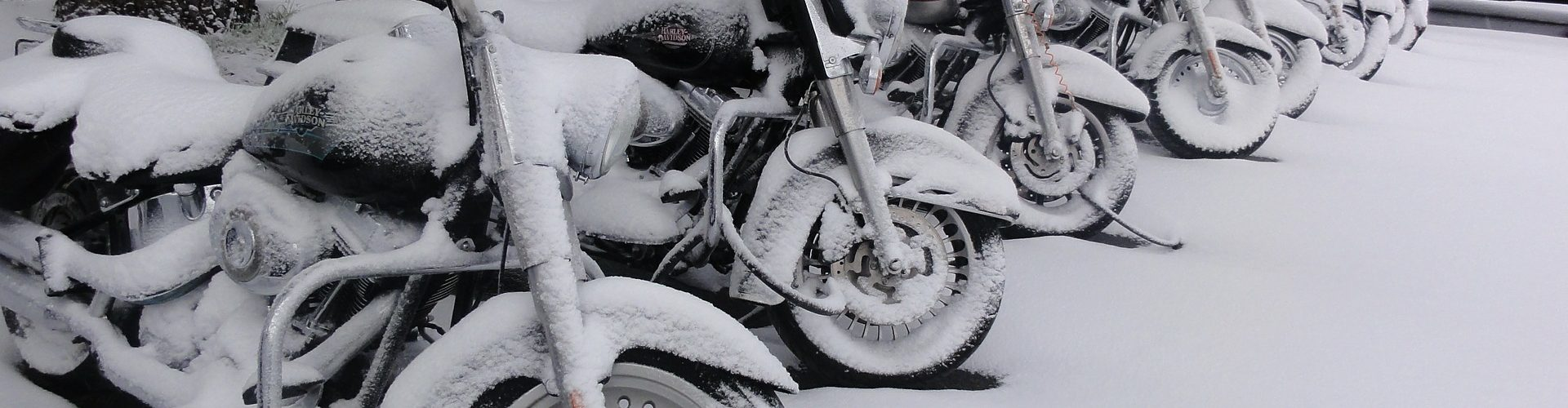 Motorcycle winter storage