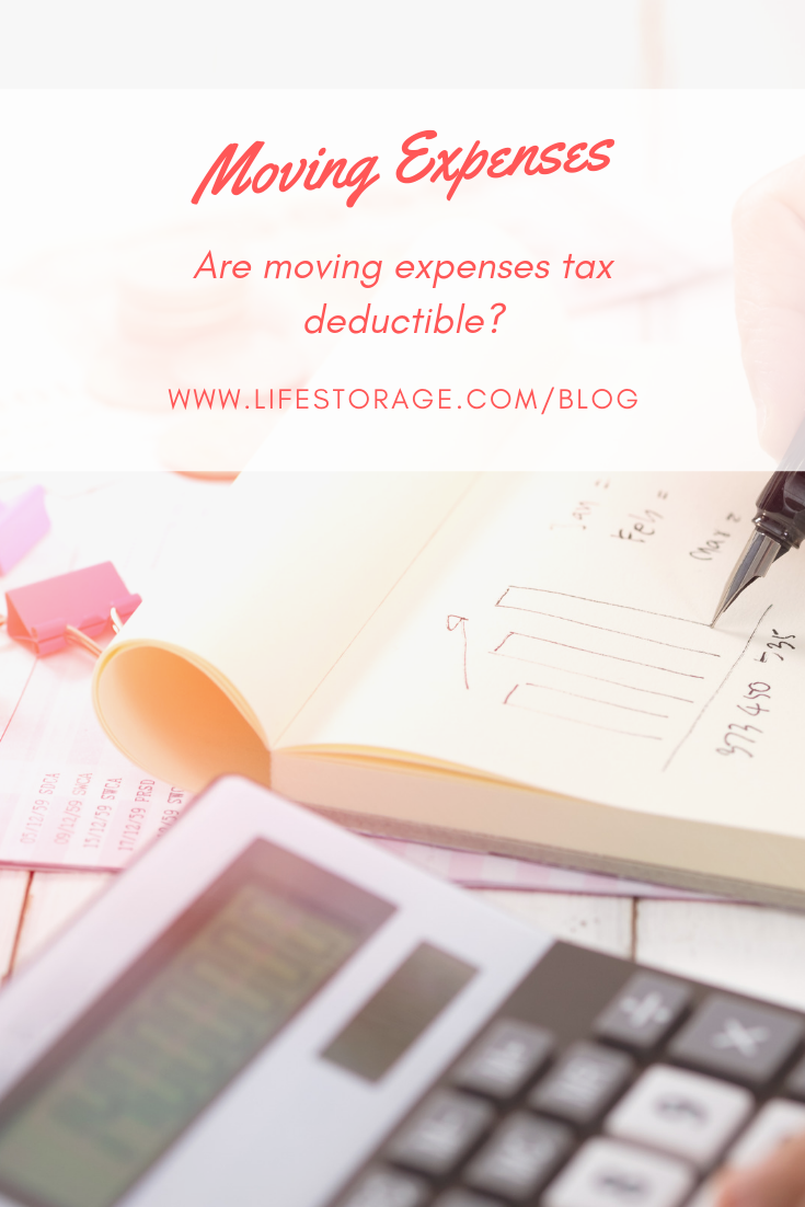 Are Moving Expenses Tax Deductible In 2019 Life Storage Blog