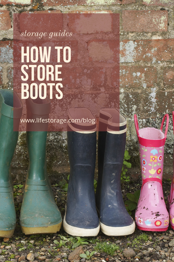 c86b57d1cb1 Boot Storage Tips: How to Store Boots in Any Space - Life Storage Blog