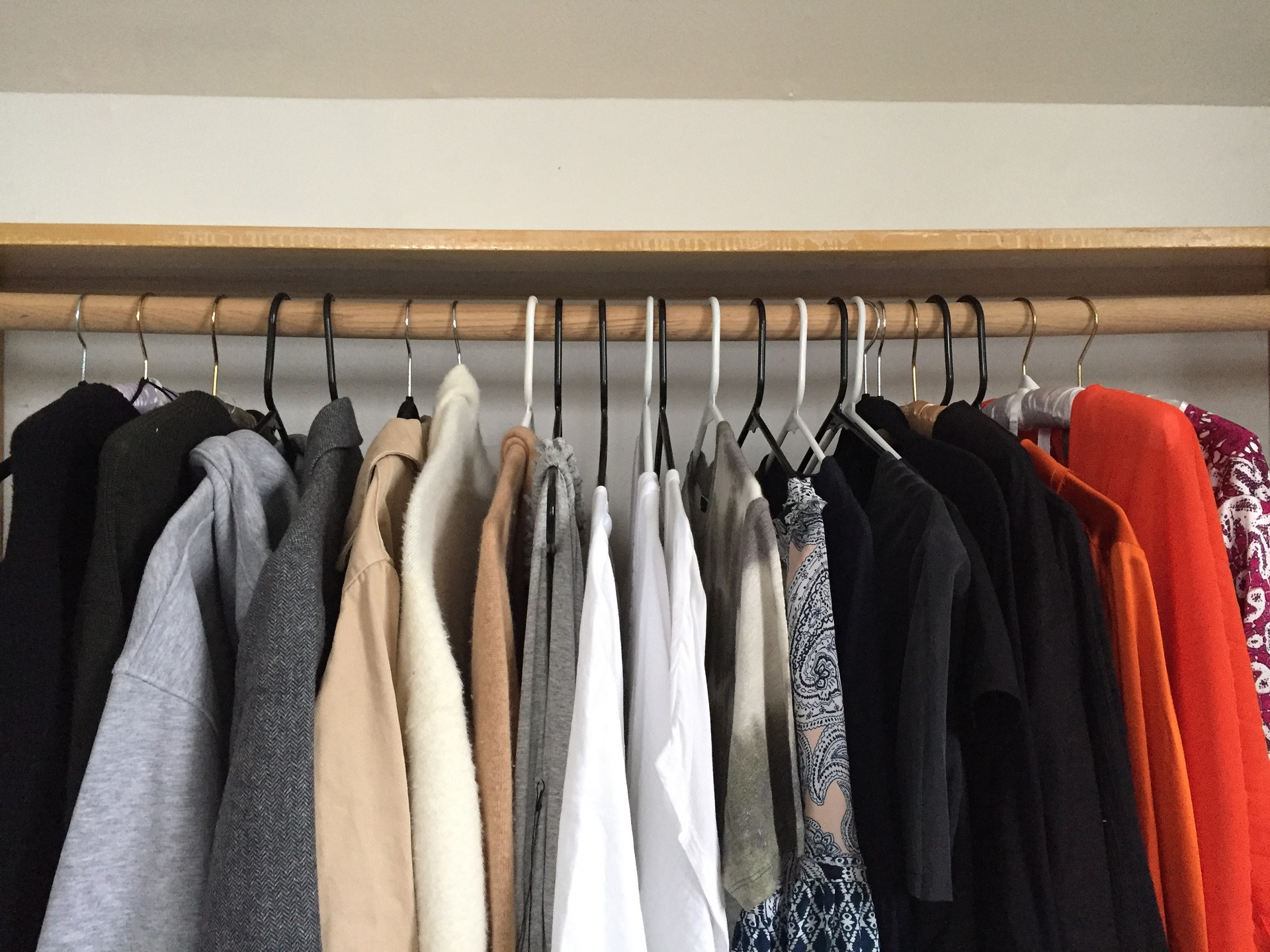 04cfaddb2be 10 Clothes Storage Ideas When You Have No Closet