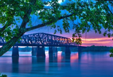 Mississippi River Bridge - Moving to Baton Rouge