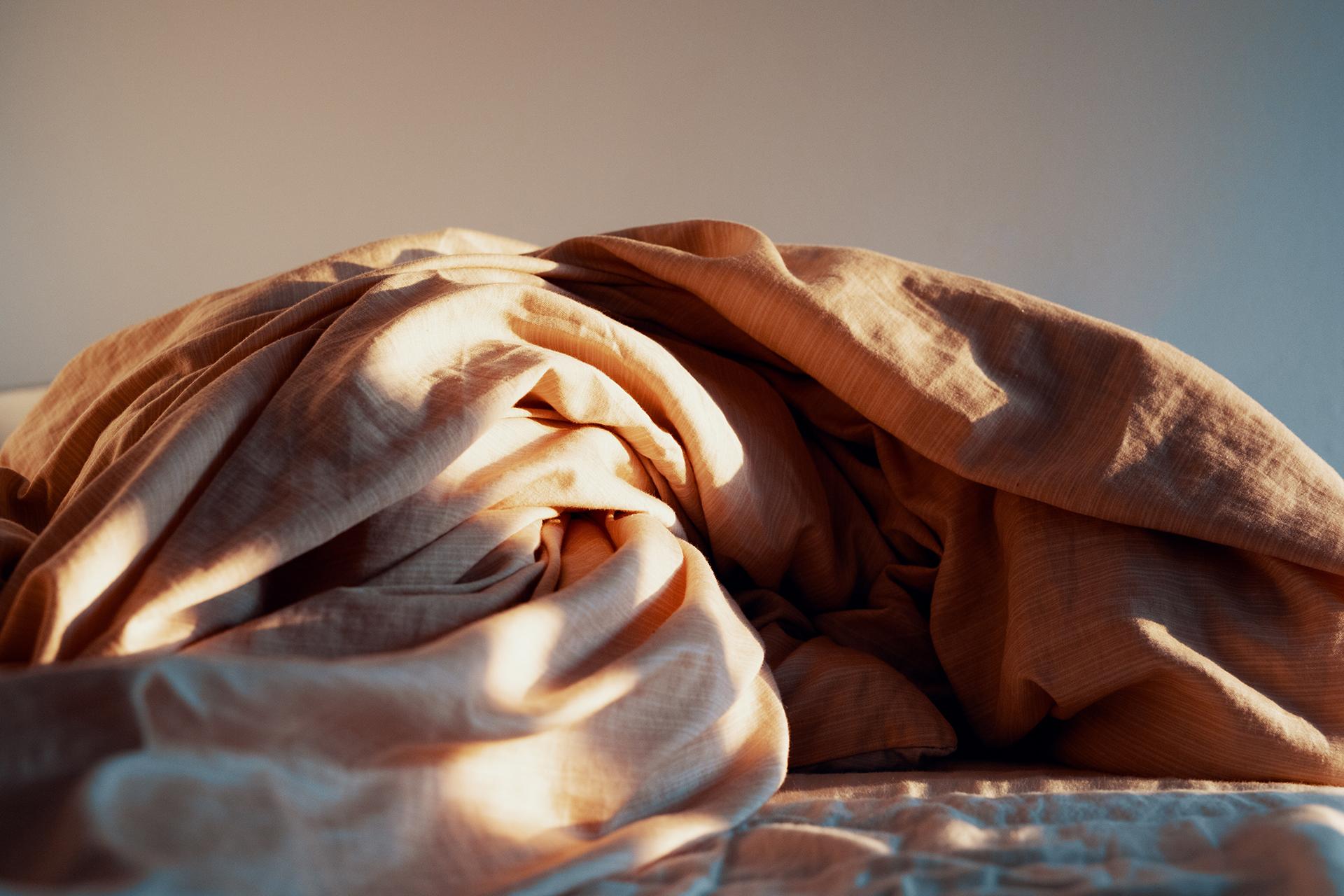 storing bedding