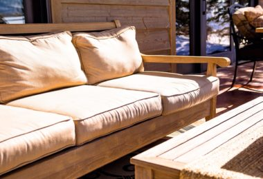 storing patio cushions